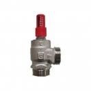HERZ-Prestrujni ventil diferencijalnog pritiska, ugaoni model