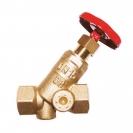 STRÖMAX-A zaporni ventil, model sa kosim sedištem