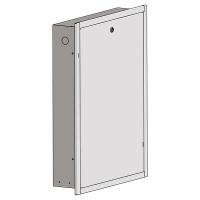 HERZ ormarić za HERZ kompaktne grejne stanice za stambenu ugradnju sa prednjim okvirom poklopcem (beli, emajliran RAL 9003)