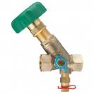 STRÖMAX-MW regulacioni ventil za sisteme distribucije pitke vode u zgradama, sa kosim sedištem, sa mernim ventilima