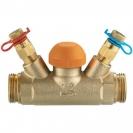 Termostatski regulacioni ventil STRÖMAX-TS-98-V, pravi model sa mernim ventilima, spoljašnji navoj