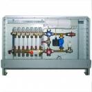Kompletna stanica za regulaciju podnog grejanja 230 V, 50 Hz, sa termomotorima