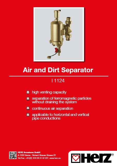 Air and Dirt Separator