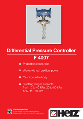 Differential Pressure Controller