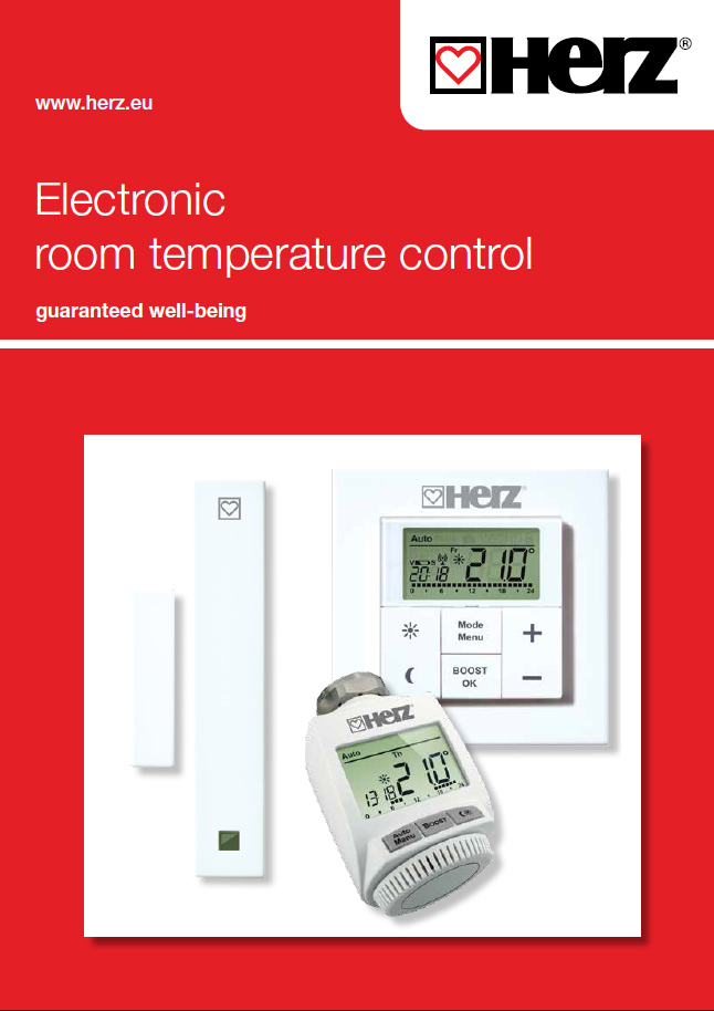 Electronic room temperature control